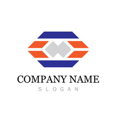 square speed company logo vector image vector image