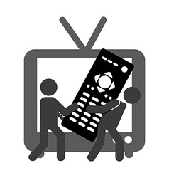 Tv entertainment vector