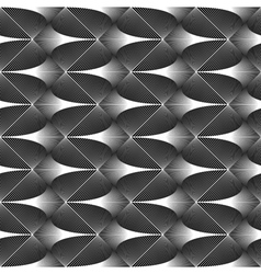Design seamless zigzag geometric pattern vector