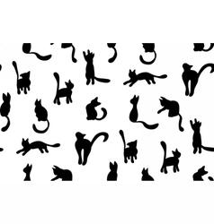CatSilhouette2 vector image vector image