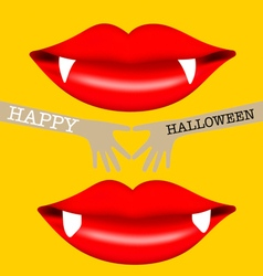 Happy halloween sale coupon voucher and tag vector
