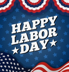 Happy labor day vector