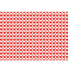 Heart Shapes Background of Valentins Day vector image vector image