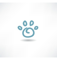 The print icon dog leg vector