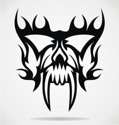 Skull mask vector