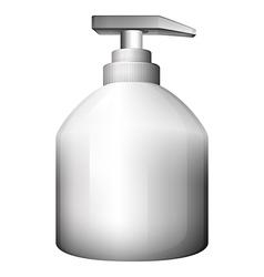 A lotion bottle vector