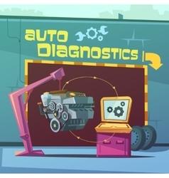 Auto diagnostics vector