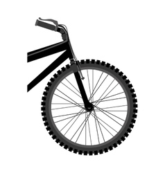 Bicycle sport vehicle vector