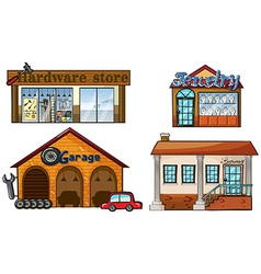 Big Stores vector image vector image