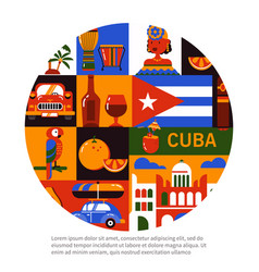 cuba havana travel concept vector image