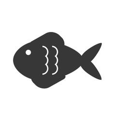 fish pictogram icon vector image vector image