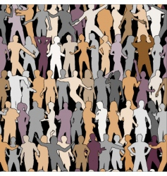 people tile vector image