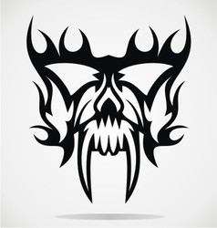 Skull Mask vector image vector image