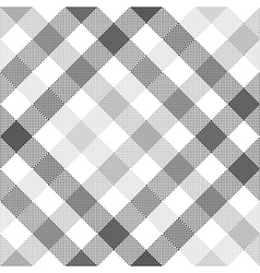 Gray diagonal check seamless fabric texture vector