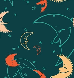Moon pattern vector