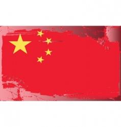 china national flag vector image