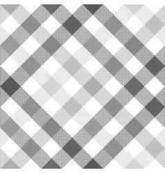 Gray diagonal check seamless fabric texture vector
