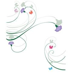 purple vector image