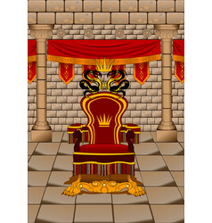 Throne room vector