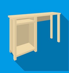 Wooden table legstable for drawing picturestable vector