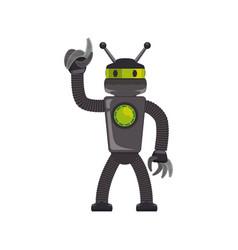 robot machine technology vector image