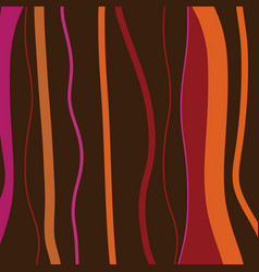 Abstract retro stripes background vector