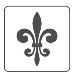 Fleur de lis symbol vector