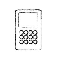 Isolated money dataphone vector