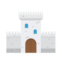 Castle flat design vector