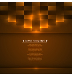Abstract background with luminous accents vector