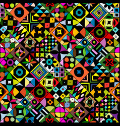 abstract geometric seamless pattern for your vector image