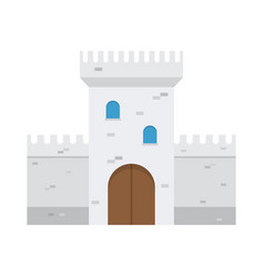 Castle flat design vector