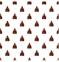 Castle pattern vector