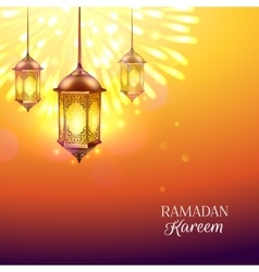 Ramadan colored vector