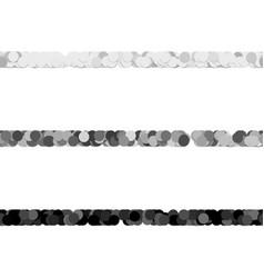 Repeatable abstract circle pattern text dividing vector