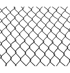 Chainlink fence vector