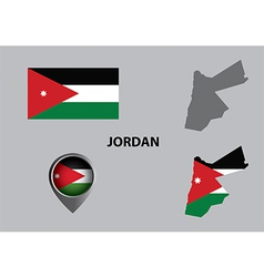 Map of jordan and symbol vector