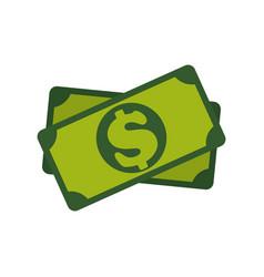 Billet of money vector