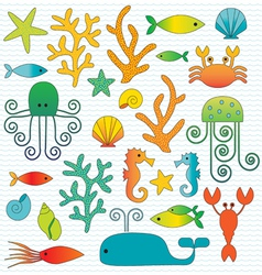 Sealife vector