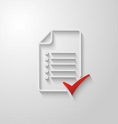 Check list icon 3 vector