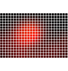 Red brown black abstract rounded mosaic vector