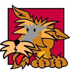 Terrier vector image vector image