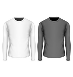 T-shirt long sleeves for boys vector