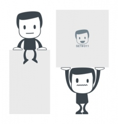 Weight icon man set011 vector