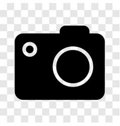 Camera icon - iconic design vector