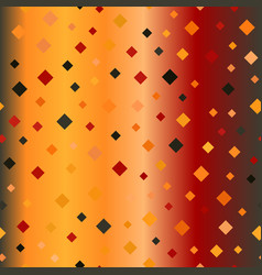 Glowing square diamond pattern seamless vector