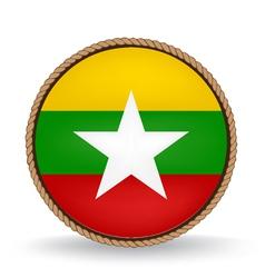 Myanmar Seal vector image