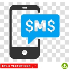 Phone SMS Icon vector image vector image