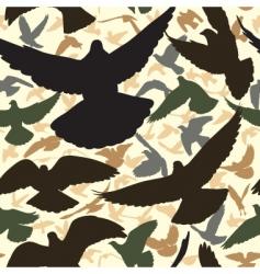 pigeon tile vector image