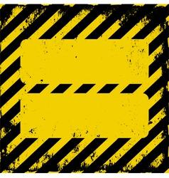 danger area vector image vector image